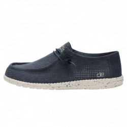 WALLY PERFORATED - NAVY