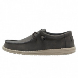 WALLY RECYCLED LEATHER -...